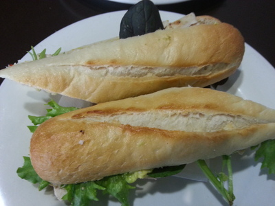 Lunchroom Espresso Bar has a range of filling and tasty baguettes available.