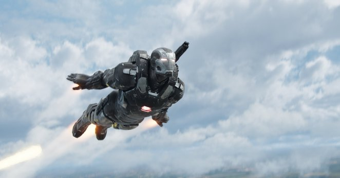 War Machine in MARVEL's Captain America: Civil War