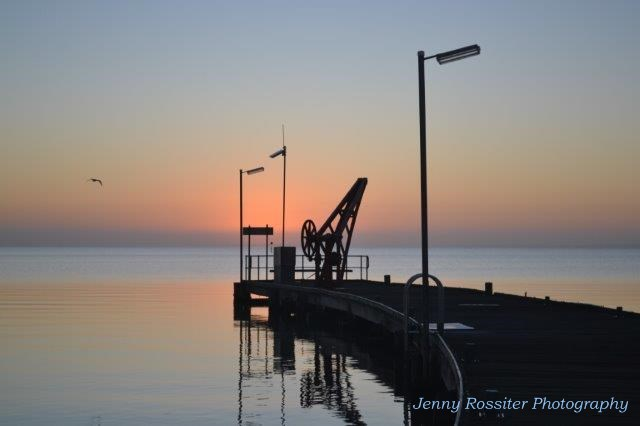 The Milang Jetty Hand Crane