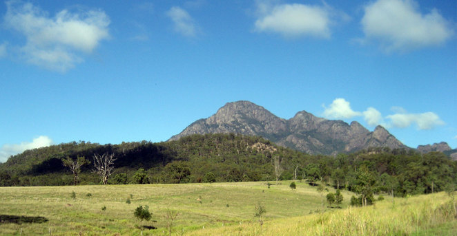 Mt Barney has a number of routes to the top
