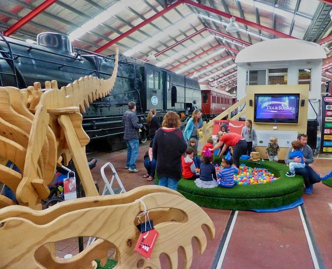 National Railway Museum, Family Fun Fair, school holidays, july, port adelaide, railway museum, museum, activities for kids