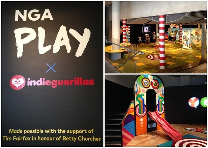 NGA Play: Indieguerillas, national gallery of australia, free activities, ACT, whats on, families, kids, april, 2018, autumn school holidays,