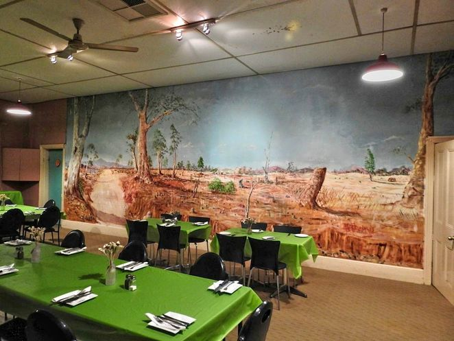 pekina, pekina hotel, pekina attractions, melrose, mount remarkable, orroroo, flinders ranges, mural