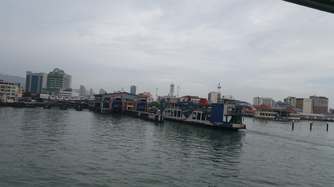 penang ferry, penang island, butterworth, george town, malaysia