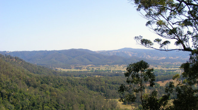 The from the Peregrine Lookout