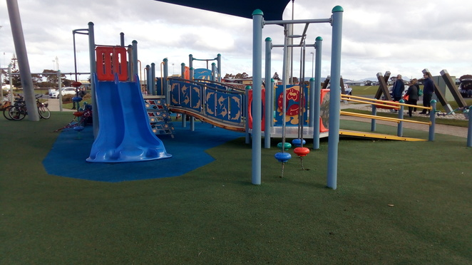 playground, mersey bluff, devonport spirit of tasmania