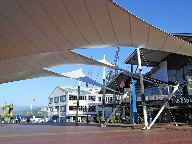 Queens Wharf, Wellington