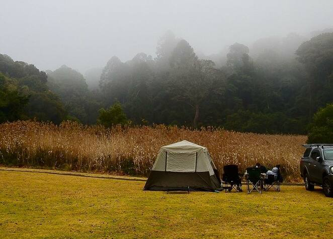 Camping will now be permitted during the winter school holidays