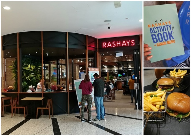 rashays, woden, family friendly restaurants, ACT, canberra, colouring in, activity books, kids, children,