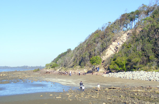 The cliffs and walk at the end of Shorncliffe