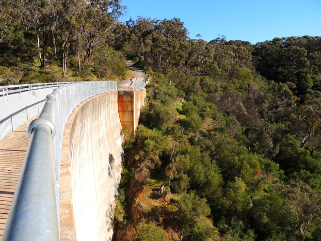 sturt gorge, recreation park, park, walking, cycling, dam, south of adelaide, sturt river, trails