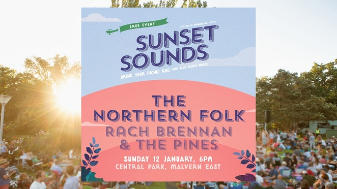 sunset sounds 2020, city of stonnington's sunset sounds 2020, live music, community event, fun things to do, family fun, musicians, bill davis and the good lords, tanya george, victoria gardens, emma donovan, laneous, lavern public gardens, the northern folk, rach brennan and the pines, central park, what's on stonnington