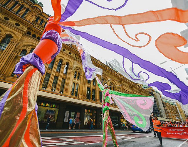 There is so much to see and do in the Sydney Easter Parade and Family Day