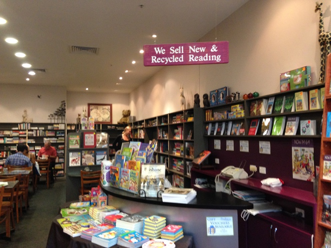 The book shop, the book cafe, readers cafe