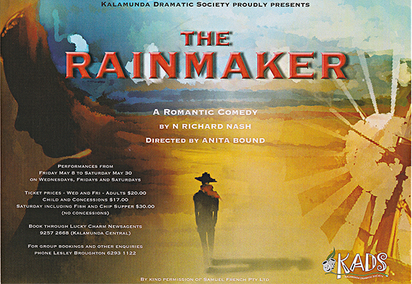 The Rainmaker, KADS, Anita Bound, Joe Isaia, Keith Scrivens