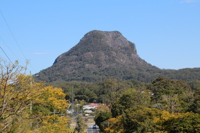 The rather large Mount Cooroora