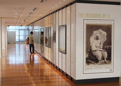 The Treasure Wall, State Library, North Terrace