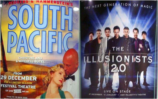 south pacific and illusionists 2.0