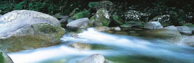 Wet Tropics, Mossman Gorge, Queensland's World Heritage Areas