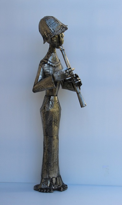 white bronze art, Terry Summers, sculpture, Redcliffe