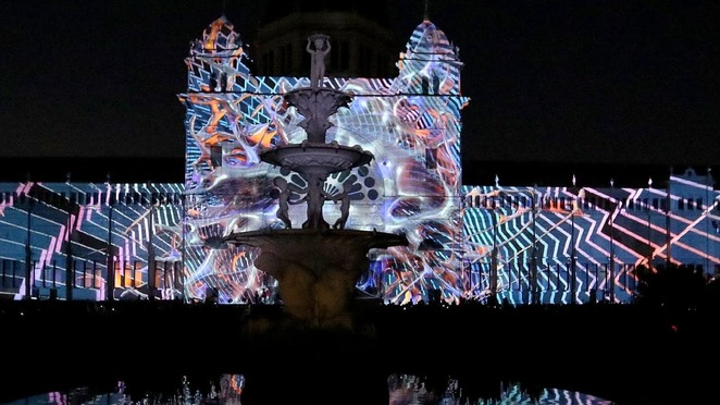 white night melbourne reimagined, white night reimagined, visit melbourne, entertainment, activities, parks and gardens, birrarjng marr, physical realm, fantastic feats of grace and dexterity, the art of performance, treasurey gardens sensory realm, carlton gardens, mysterious creatures, spiritual experiences, spiritual realm, community event, fun things to do, performing arts, roving entertainment, food and drink, deadly questions, where do books come from?, birrarung mar the physical realm, globe, the odd platoon, the odd platoon drummers, heliosphere, white night sign, this girl can at white night, treasure gardens the sensory realm, waterlight graffiti, cluster, pollution pods, iris, songcloud, cocoon, synapse, sensoria, carlton gardens the spiritual realm, the guardian, the swan sisters, the white night messenger, story tree bunjil creation, pleasure, loved, awakened, spirit creatures, energies, superdrone, australian music vault, blak night white night at melbourne museum, nocturnal whitenight rockwiz r