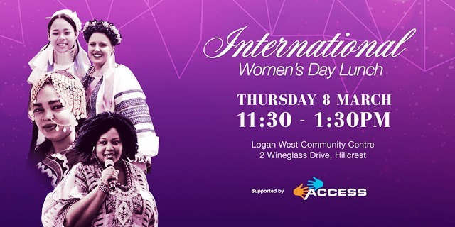 women, international women's day, access, logan leadership awards