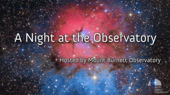a night at the observatory, mount burnett observatory inc, jaymee grondman, heike reich, astronomy, look at the stars, wonders of the universe, mbo outreach team, exploring the sky, community event, fun things to do, learn something new