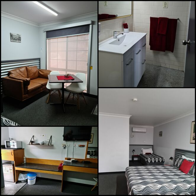 Accomodation, motel, family, rooms, roadtrip, country, NSW, Dubbo