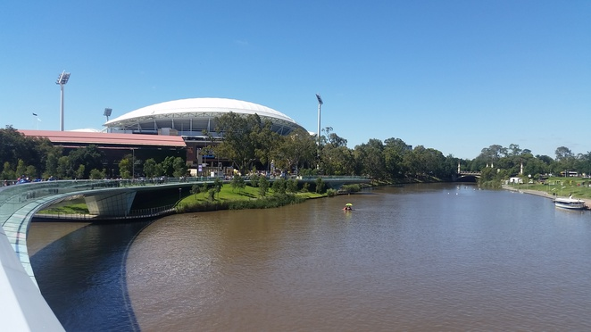 Adelaide Oval view