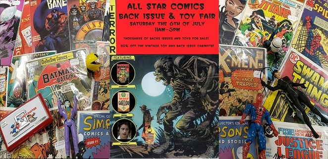 all star comics back issue and toy fair 2019, community event, fun things to do, all star comics mel ourne, free comics event, bargain comics, comic book store culture, comic book collectors, all star event, fun things to do, community event, graphic novels