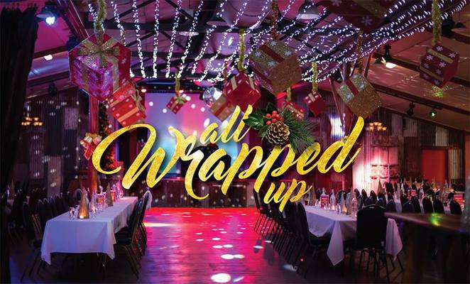 All Wrapped Up, Christmas, Aussie World, Christmas function, theme park, festive, world class chefs, live entertainment, access to all rides and attractions at Aussie World, dinner, snow entrance