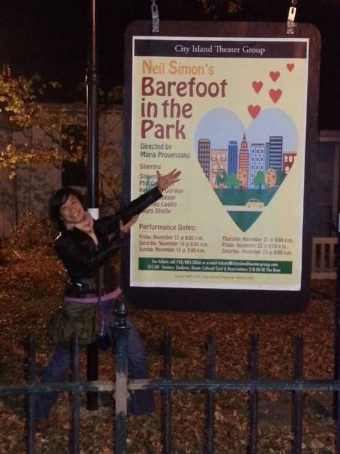 Barefoot in the Park, Neil Simon, Maria Provenzano, the City Island Theater Group