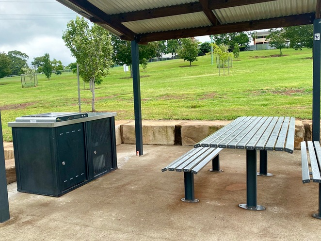 Picnic area and BBQs
