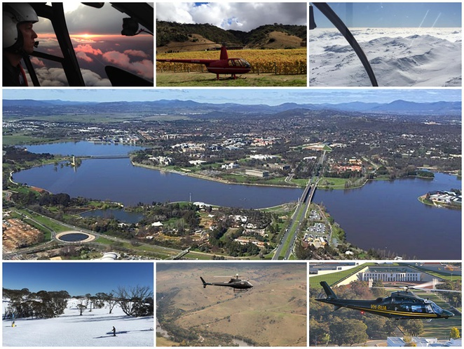 canberra helicopters, canberra, helicopter tours, ACT, joyflights, helicopters, snow,