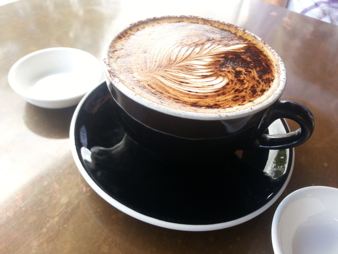 Canteen coffee, bureligh breakfast, burleigh coffee
