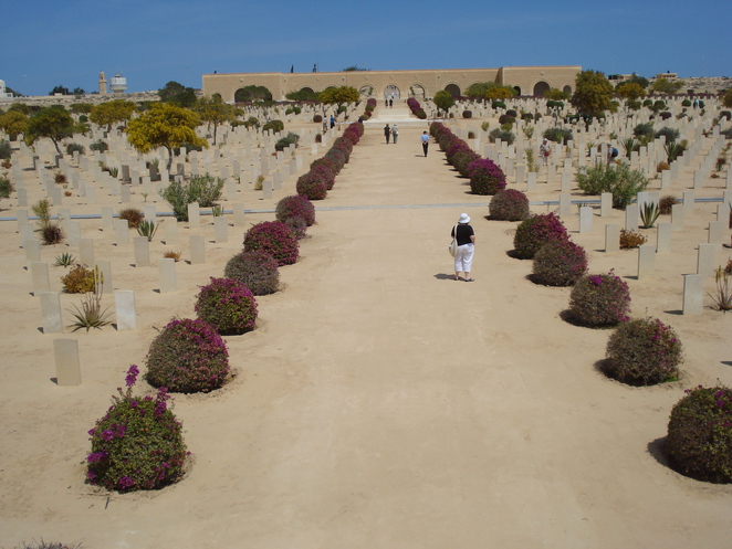 Commonwealth War Graves at El Alamein