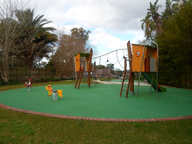 curtilage park, curtilage park wahroonga, wahroonga parks, wahroonga playgrounds