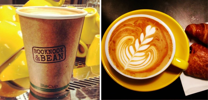 De Groot coffee adelaide Topham mall Booknook and bean