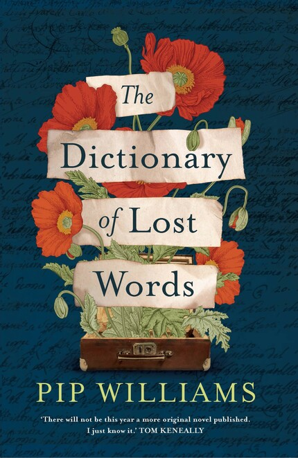 dictionary, novel, lost, words, pip, williams, book