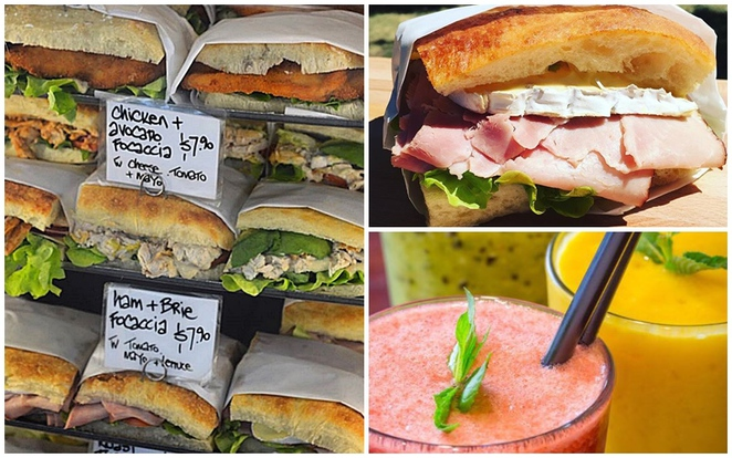 dobinsons, canberra, best sandwiches, focaccias, toasties, best sandwiches, ACT, bunda street, city, healthy