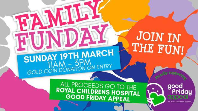Family Fun Day for Good Friday Appeal