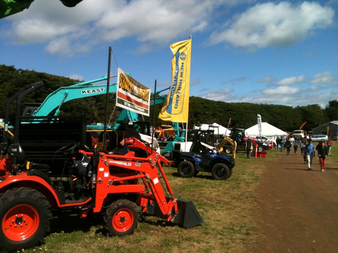 farming machinery on show 2013