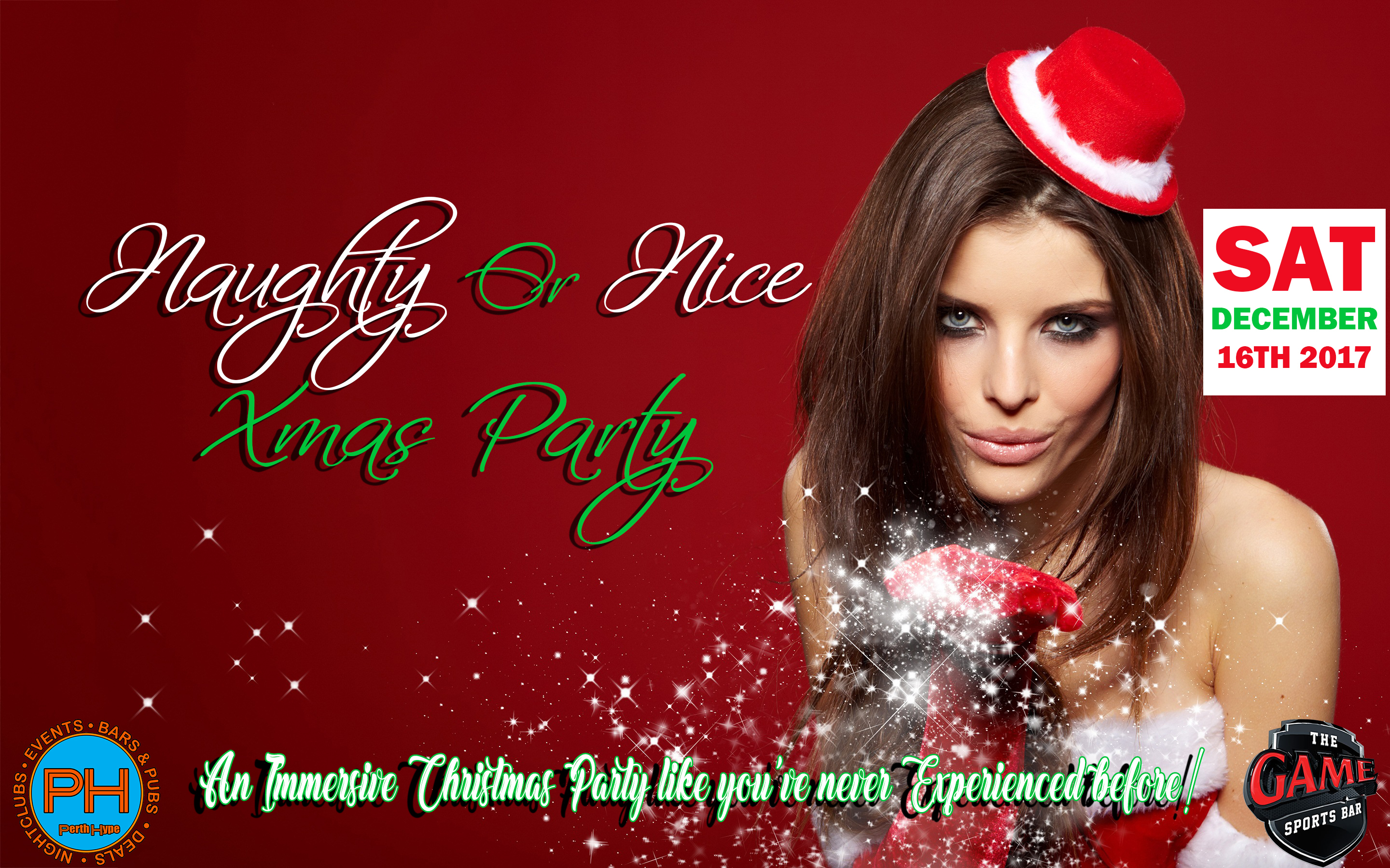 Naughty or Nice Xmas Party - Hosted by Perth Hype - Perth
