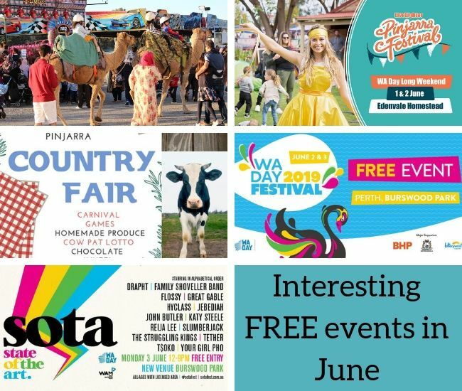 Free events June
