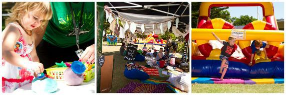 Funky Forest at Caloundra Music Festival