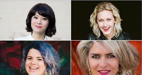 funny women write comedy, Avid Reader, Avid Reader author events, author event Brisbane, Anna Daniels, Claire Christian, Michelle Law