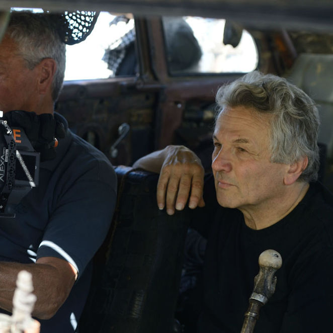 GRAPHIC Festival - George Miller on set with Mad Max: Fury Road