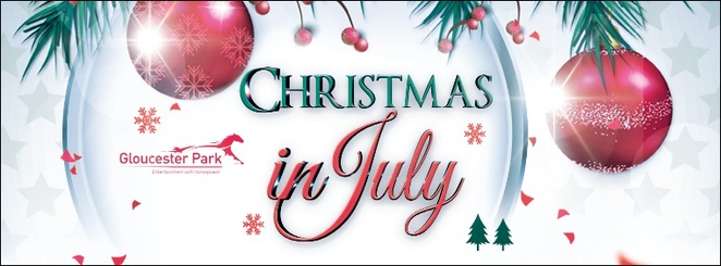 Gloucester,Park,Xmas,in,July