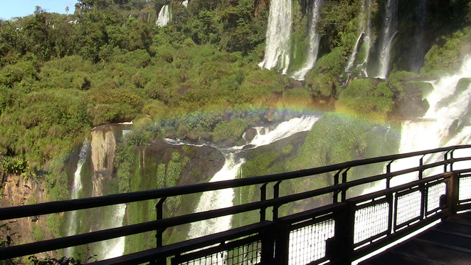 iguazu falls, the devil's throat, iguazu falls national park, upper falls