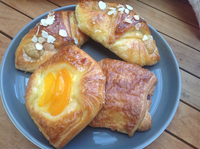 Danish chocolate croissants Cannelle french pastries Adelaide Stepney